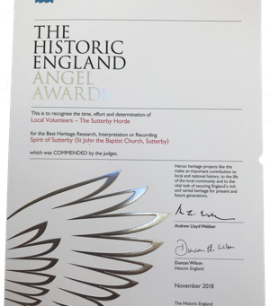 Historic England Angel Award scheme