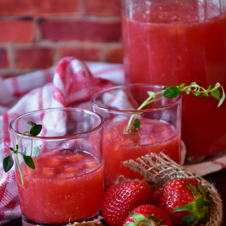 Gin-Erdbeerlimes