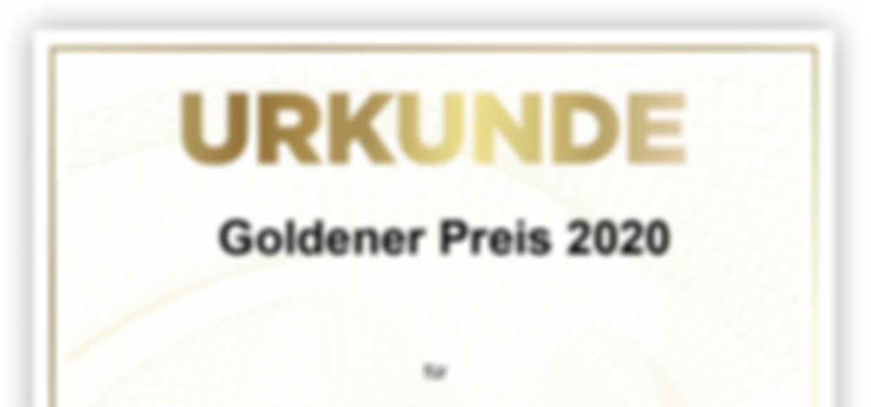 DLG Urkunde_ 4 GINeration Goldener Preis