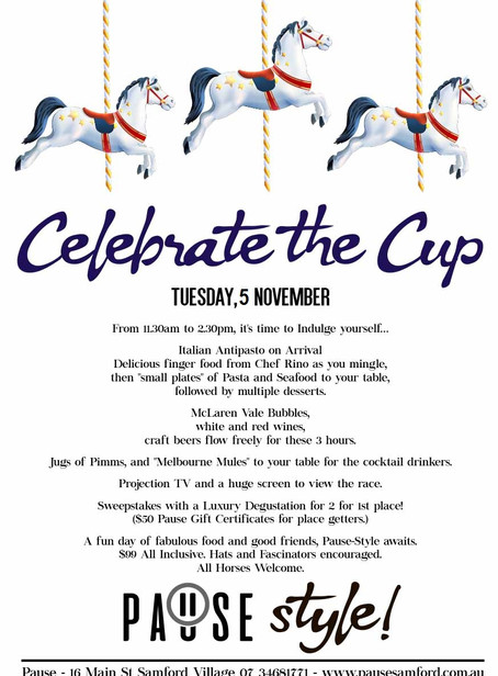 Melbourne Cup at Pause