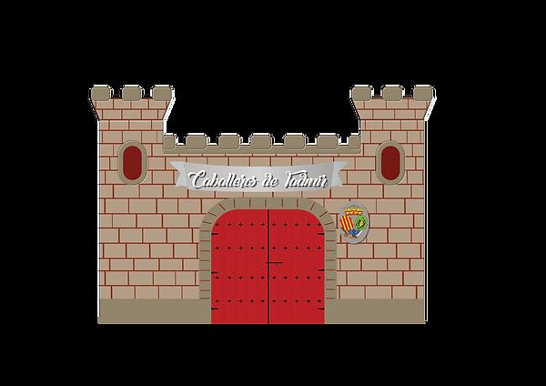 fachada, castillo, comparsa, caballeros de tadmir, tadmir, orihuela
