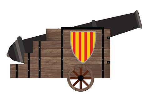 cañón, pólvora, orihuela, comparsa, caballeros de tadmir, moros y cristianos