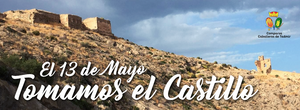 castillo, Orihuela, toma del castillo, Tadmir, Caballeros de Tadmir, Comparsa, comparsa, moros y cristianos,