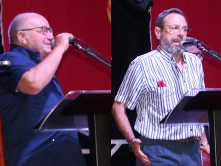 Esteban Sanmartin y Javier Portas, cargos honoríficos de Tadmir 2019