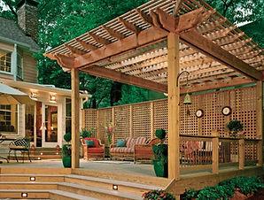 Pergola, patio, outdoor living, Charlotte home renovation