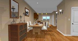 Charlotte Home Remodeling, 3D renovation design