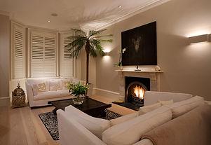 Charlotte home renovation, open interior walls