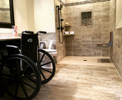 Bathroom Revovation - Handicapped Accessible
