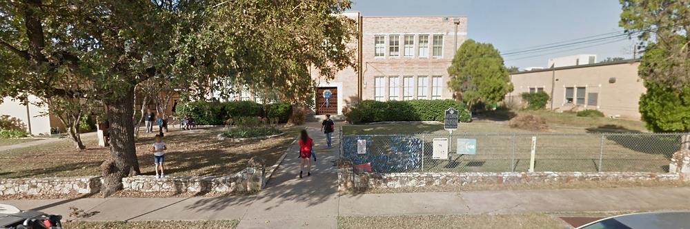Front of Blackshear Elementary via Google Streetview