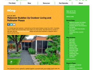 Featured on Central Texas Gardener