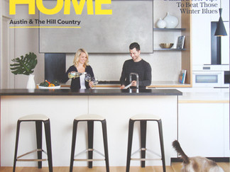 Featured in Austin Home Magazine: Buck Residence