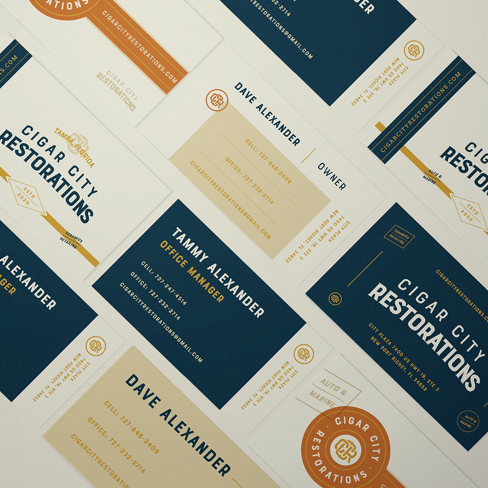 CCR_BrandingPresentation Business Cards