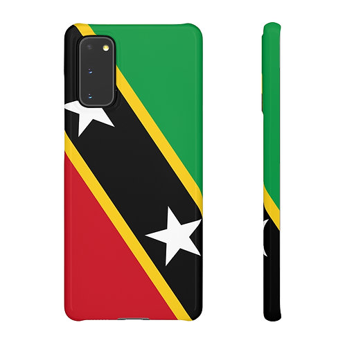 Saint Kitts and Nevis Flag - Samsung Snap Cases