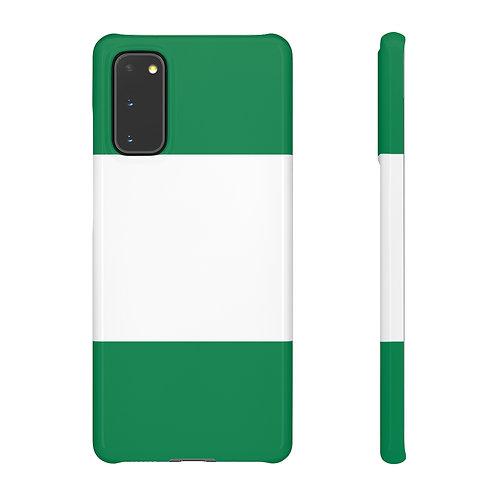 Nigeria Flag - Samsung Snap Cases
