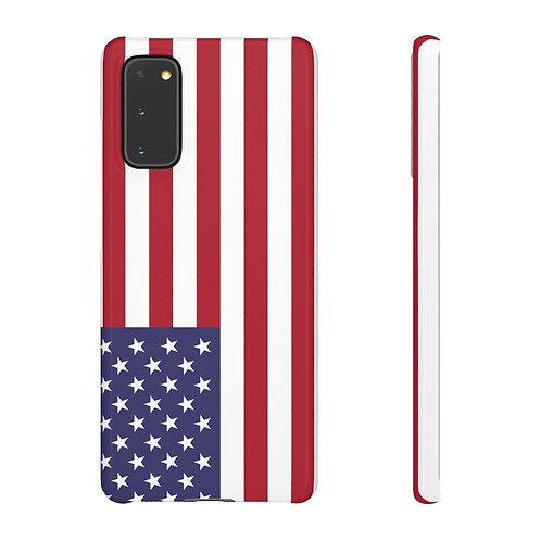 USA Flag - Samsung Snap Cases