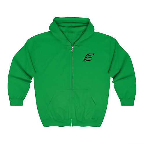 Endurance Logo Print - Unisex Zip Up Hoodie