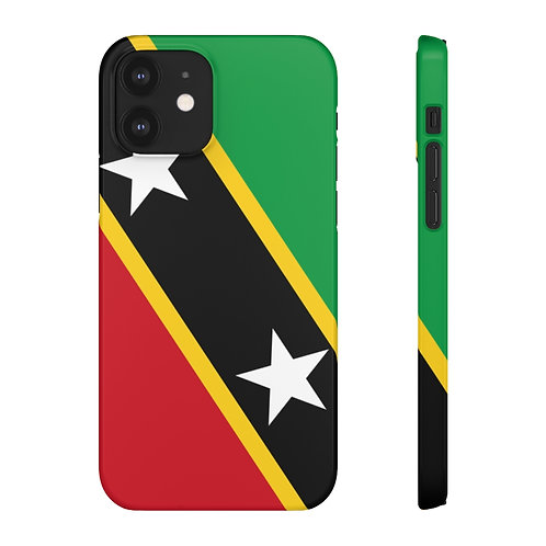 Saint Kitts and Nevis Flag - iPhone Snap Cases