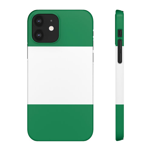 Nigeria Flag - iPhone Snap Cases