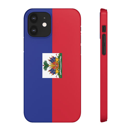 Haiti Flag - iPhone Snap Cases