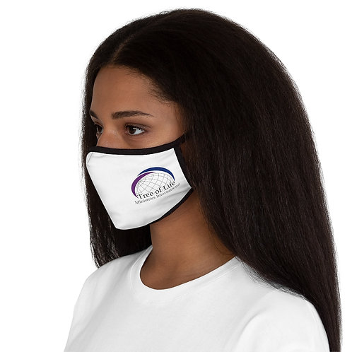 TOLMI Logo Print - Fitted Polyester Face Mask