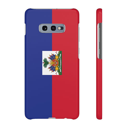 Haiti Flag - Samsung Snap Cases