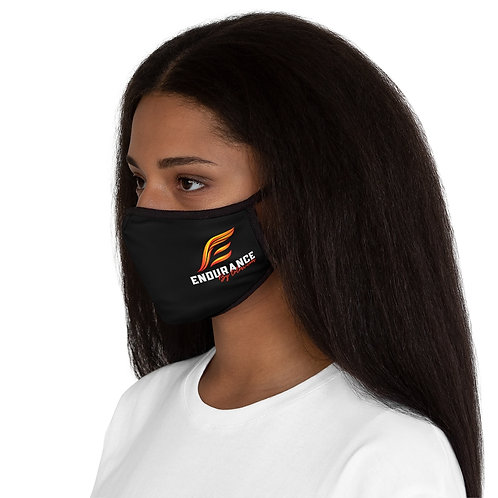 Endurance Logo Print - Fitted Polyester Face Mask