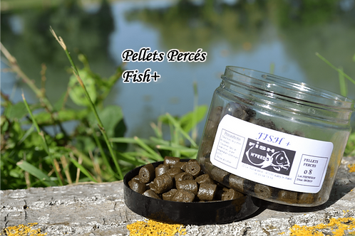Pellets Percés Fish+