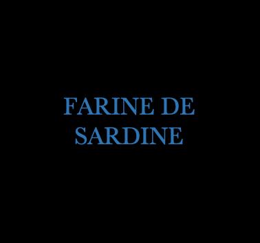 FARINE DE SARDINE