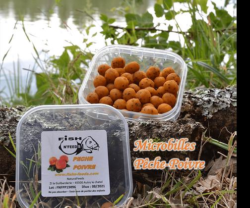Microbilles Pêche-Poivre