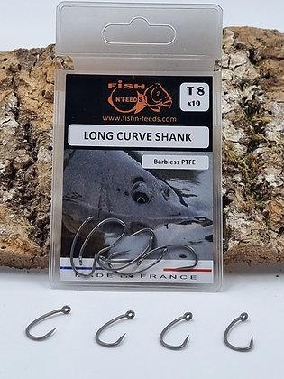 Hameçon LONG CURVE SHANK