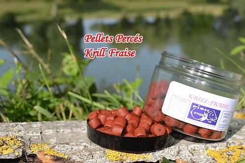 Pellets Percés Krill-Fraise