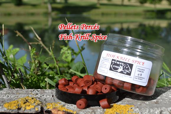 Pellets Percés Fish-Krill-Spice
