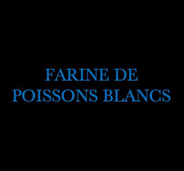 FARINE DE POISSON BLANC