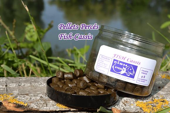 Pellets Percés Cassis-Fish