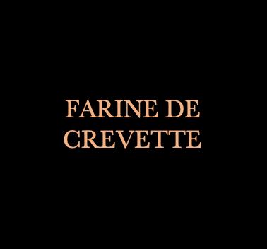 FARINE DE CREVETTES