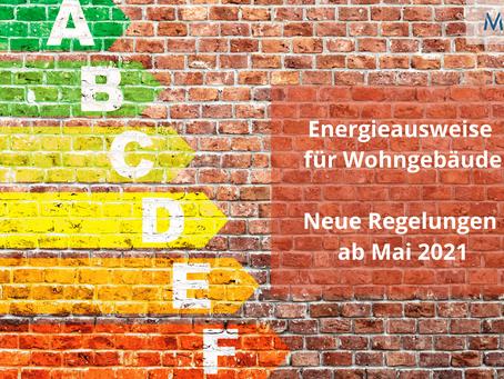 Was ändert sich ab Mai 2021 für Energieausweise?