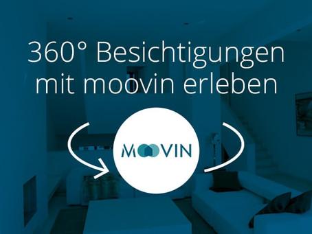Mit moovin in die virtuelle 360° Wohnungsbesichtigung!