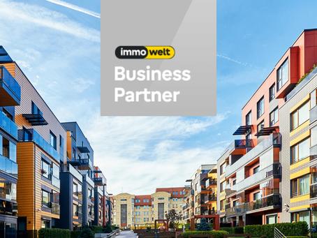 Hybrid-Makler moovin wird erneut Immowelt Business-Partner