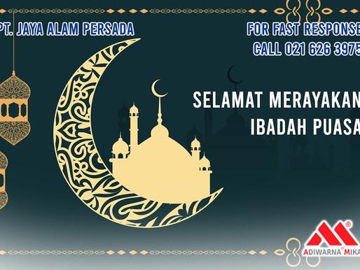 PT. Jaya Alam Persada (Jaya Mika) mengucapkan selamat menunaikan ibadah Puasa Ramadhan 1442 H