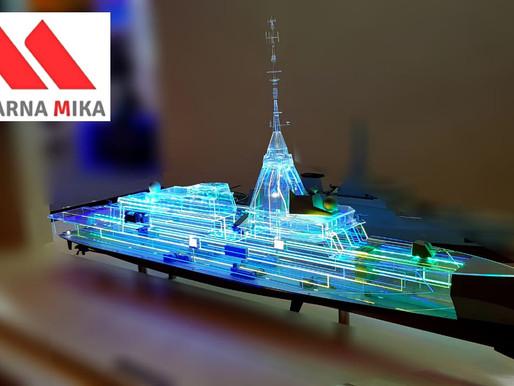Acrylic dan Prototipe Kapal Laut