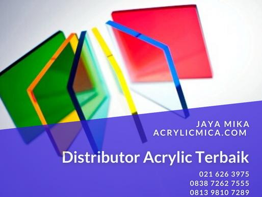 PT. Jaya Alam Persada (Jaya Mika) merupakan distributor acrylic terbaik di Indonesia