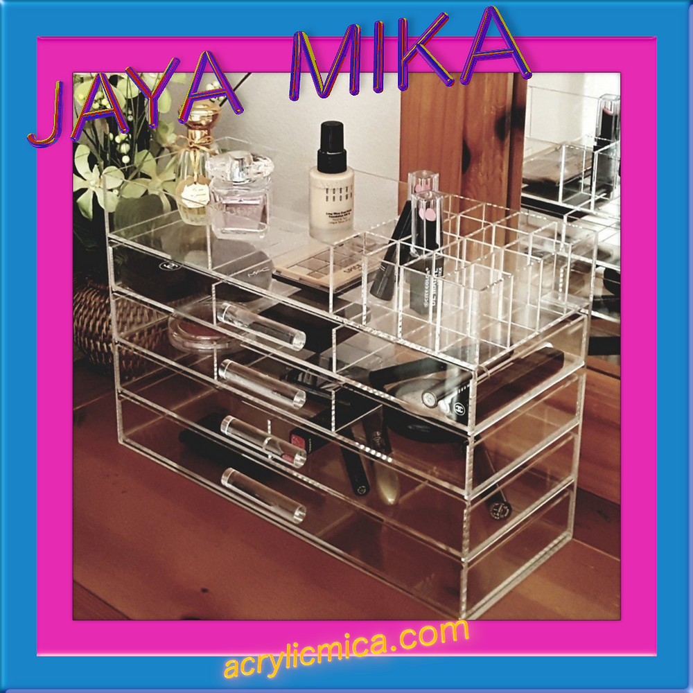 Clear Acrylic For Cosmetic Shelves