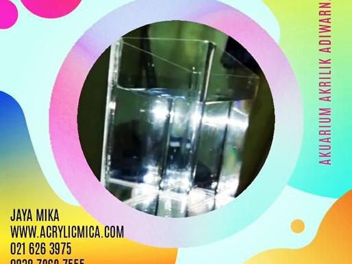 Akrilik Adiwarna Mika dapat digunakan untuk membuat akuarium untuk ikan cupang atau ikan lain