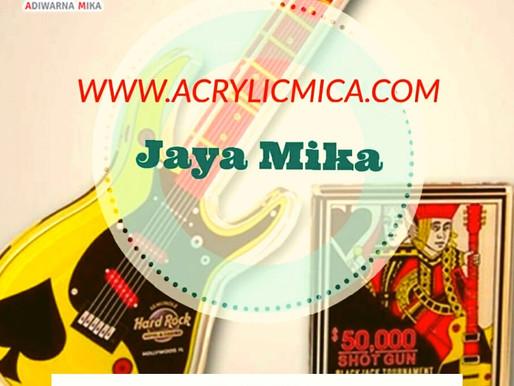 Akrilik Adiwarna Mika merupakan produk yang digunakan untuk industri kreatif