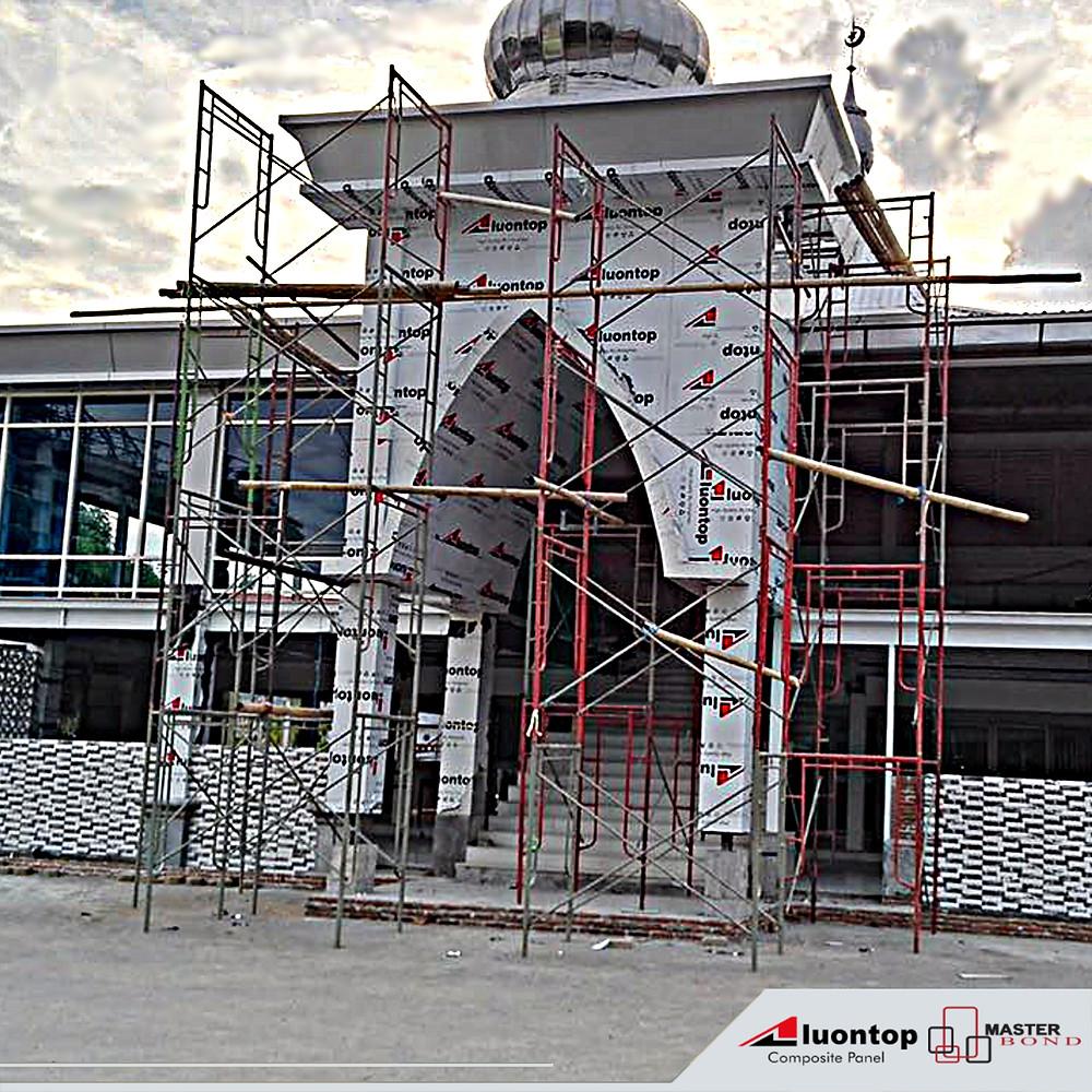 ACP Aluontop Untuk Masjid