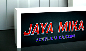 PT Jaya alam Persada (Jaya Mika) sells acrylic products, ACP and the best products