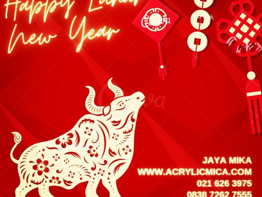 PT. Jaya Alam Persada (Jaya Mika) mengucapkan selamat Tahun Baru Imlek 2572 tanggal 12 Februari 2021