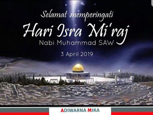 PT. Jaya Alam Persada (Jaya Mika) Mengucapkan Selamat Memperingati Hari Raya Isra Mi'raj Nabi Muhamm