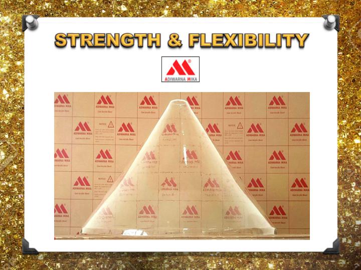 Kekuatan dan Fleksibilitas Acrylic Adiwarna Mika