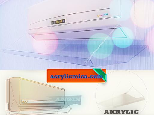 Acrylic Adiwarna Mika Dapat Digunakan Untuk Membuat Talang AC Atau Reflektor AC atau Akrilik AC